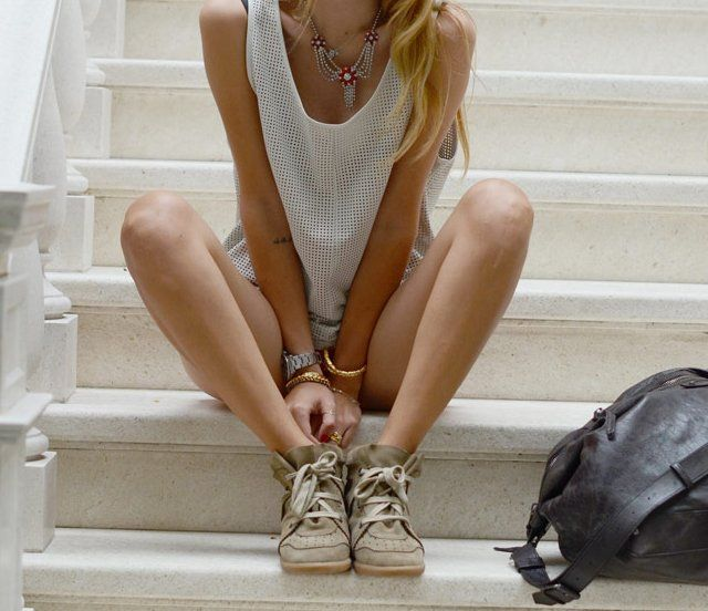 Bobby Low-Top Sneakers by Isabel Marant