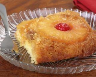 Gâteau au yaourt renversé à l'ananas