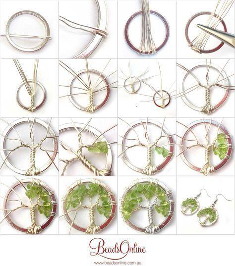 Tree of Life Earring Tutorial – #Earring #Life #tree #Tutorial