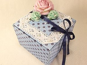 Подарочная коробочка за 30 минут. | Ярмарка Мастеров - ручная работа, handmade