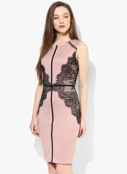 8d7698b1766f Buy Dorothy Perkins Mauve Bodycon Dress for Women Online India