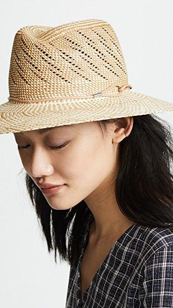 28b5dc90493706 Zoe Straw Hat | sun hat | Hats, Rag, bone, Raffia hat