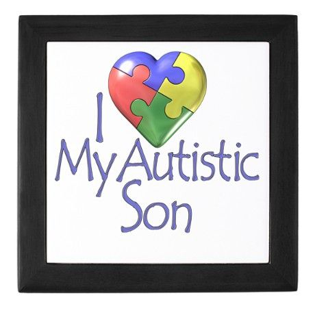 My Autistic Son Keepsake Box