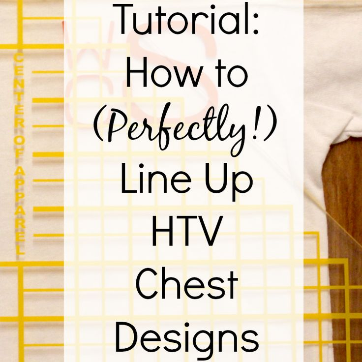 Tutorial: How To Use The Logo It To Line Up Heat Transfer