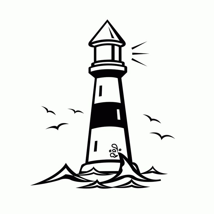 Sketch Images For Drawing: Free Printable Lighthouse Coloring Pages For Kids