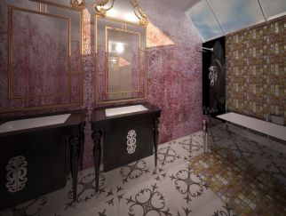 Penthouse Maria Rosetti 38, master bathroom http://www.anuntulimobiliar.ro/anunt-Vanzare_Penthouse_de_lux_in_Ansamblul_Maria_Rosetti_38-715812.ai