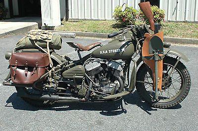 Harley Davidson Wla 1942 For Sale Cheap - 2