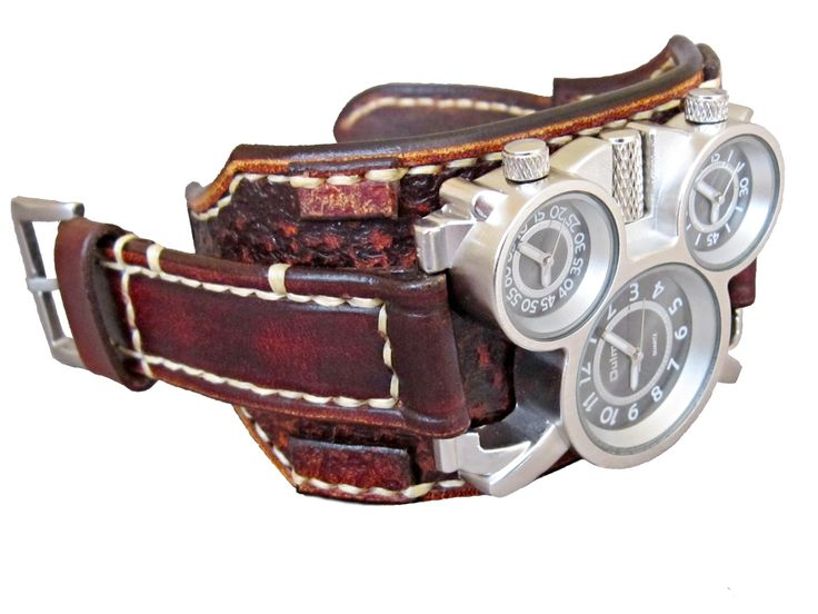 Kožený+hodinky,+pánský+hodinky,+steampunk+hodinky+Farba:+vintage+hnedá+Šírka:+5,7+cm+Hodinky+Oulm+Vyrobím+podľa+požiadavky.+Potrebujem+Váš+obvod+zápästia.+Hodinky+vyrobím+podľa+požiadavky+tak+aby+sedeli+na+vašu+ruku.+Pred+kúpou+mi+napíšte+správu+a+všetko+upresníme