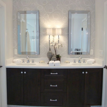 Bathroom Wallpaper Design  Pictures  Remodel  Decor and Ideas   page 16. 74 best Bathrooms images on Pinterest   Bathroom ideas