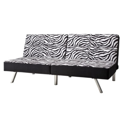 Go back to college in style. Zebra Print Futon with 5-position adjustability. #TargetCollege: Mobiles Site, Dreams Bedrooms, Target Mobiles, Union Zebras, Zebras Prints, Animal Prints, Dorm Rooms, Prints Futons, Studios Couch