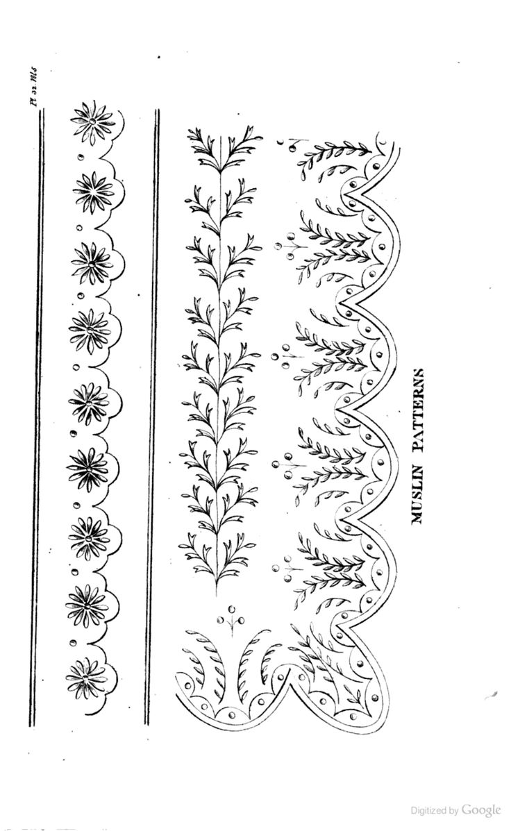 33 best clothing embroidery and print patterns images on pinterest pattern from ackermanns repository of the arts may 1818 baditri Image collections