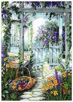 Dimensions 13692,Garden Gate (Садовая калитка, Ворота в сад)