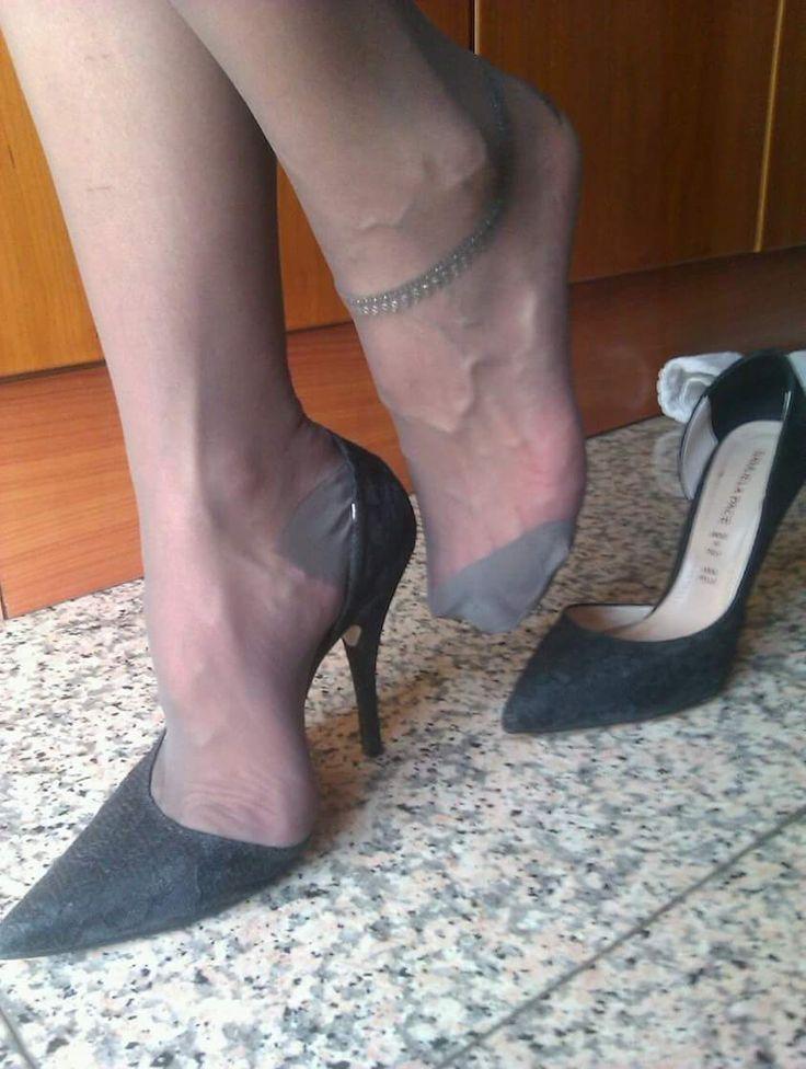 Sexy Stockinged Feet 54