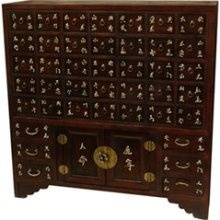 Chinese Apothacary chest. I have always wanted one of these!