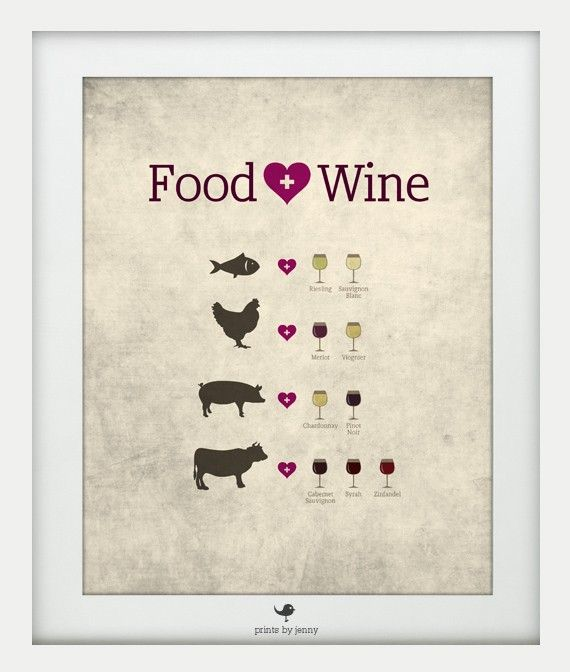 food good. wine good. matched together the right way .. evennnn better!
