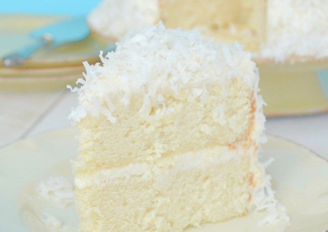 Gonna Want Seconds - Coconut Cake with Coconut Cream Cheese Frosting