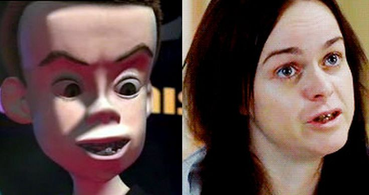 Orange is the New Black: Pennsatucky = Sid from Toy StoryStories ...
