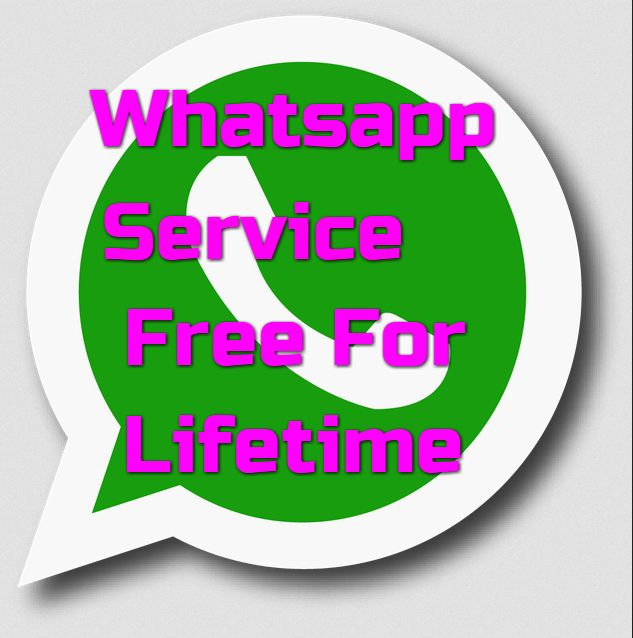 How to make Whatsapp Service free for lifetime- 2016