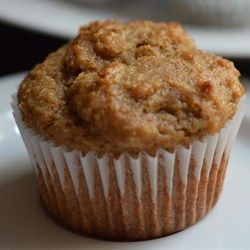 Classic Bran Muffins Allrecipes.com Use dried peaches or apricots instead of raisins. Also, replace oil with applesauce for low fat version.