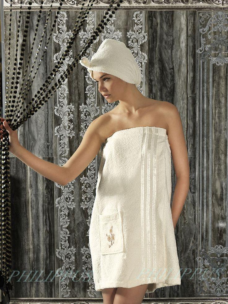 Сауны, бани и оборудование Philippus Набор для сауны Mariam Цвет: Кремовый