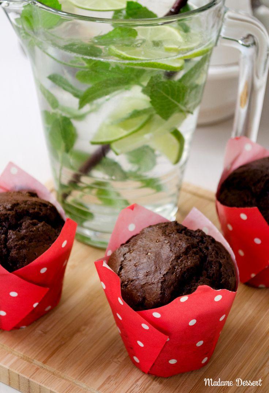 Weltbeste Schokoladenmuffins   Madame Dessert #Rezept