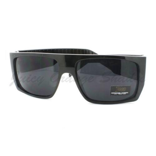 Locs Sunglasses Mens Flat Top Square Gangster Mob Fashion Shades | eBay