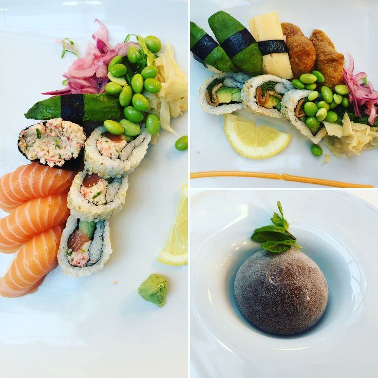 In Stockholm, Sweden a new place Sushi Yama DELICIOUS.
