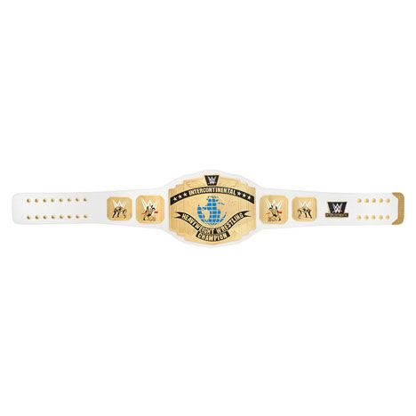 WWE White Intercontinental Championship Replica Title Belt (2014) - WWE