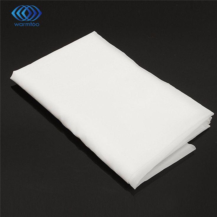 Durable Calidad de Nylon Blanco Hoja 200 de Agua de Malla de Filtración de Aceite Filtro De Tela Industrial 1 m x 1 m de $ Number Pulgadas de Vacío limpiador de Partes