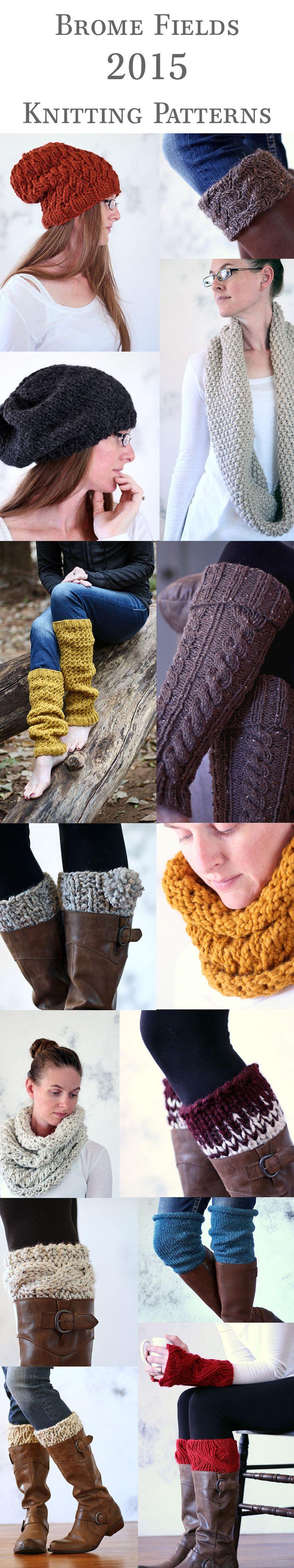 New 2015 Fall Winter Knitting Patterns