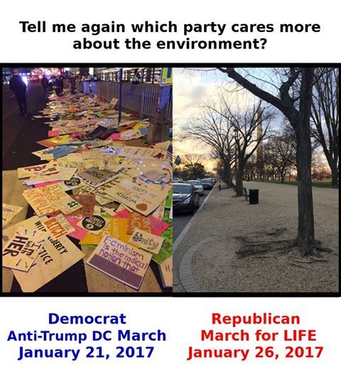 Evidence of the hypocrisy and hate of the liberal left. By the way, I Joanna am a pro-life nurse (Yes, life begins at conception) AND I support protecting the environment and animals. (I have supported ASPCA, World Wildlife Federation, The Audubon Society, National Conservancy, National Parks Foundation, etc).