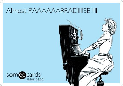 ♫Almost PAAAAAARRADIIIISE !!!!♫. @Melissa Hyer hehe, I saw this and thought you would appreciate it!!! ^_^