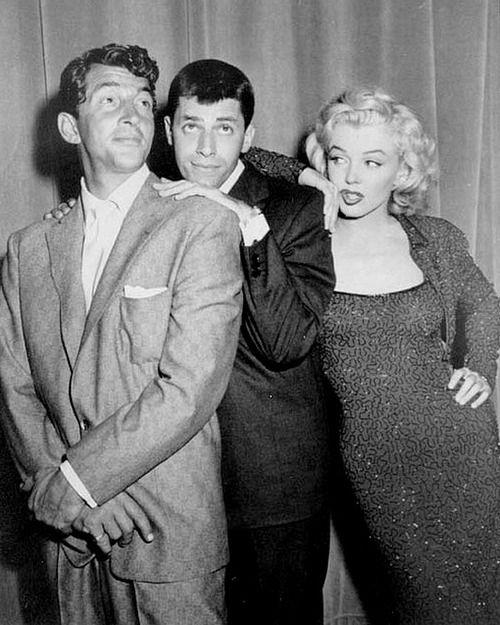 Dean Martin, Jerry Lewis & Marilyn Monroe