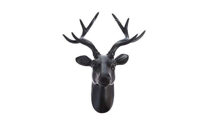 MONOQI | Deer Head Wall Trophy - Black