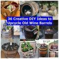 36 Δημιουργικό DIY ιδέες για να upcycle Παλιά βαρέλια κρασί αντίχειρα