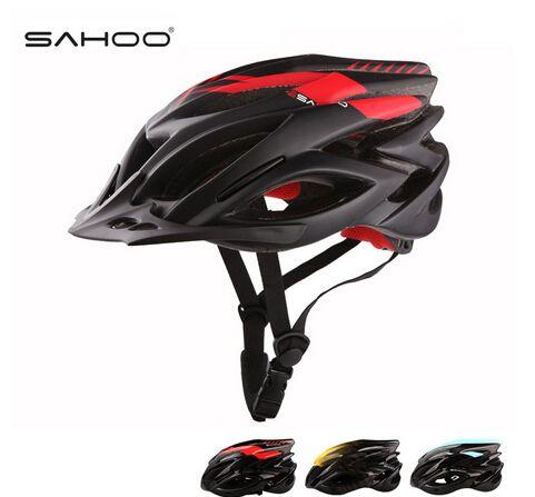SAHOO Велосипедный Шлем Из Углеродного Волокна + EPS Super Light Велосипедный Шлем 23 Вентиляционные отверстия MTB Дорожный Велосипед Шлем Каско Bicicleta Ж/Козырек