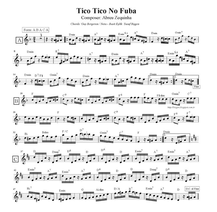 34 Best Flute Score Nota Images On Pinterest Flute Guitar Chord