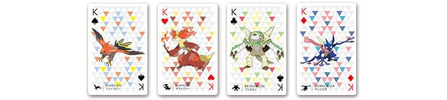Nintendo Pokémon Playing Cards.
