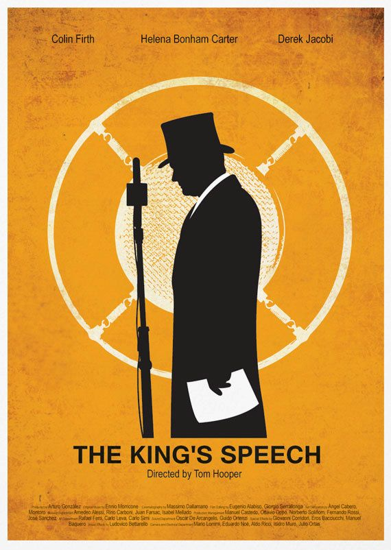 The King's Speech A3 Poster Print. $18.00, via Etsy.