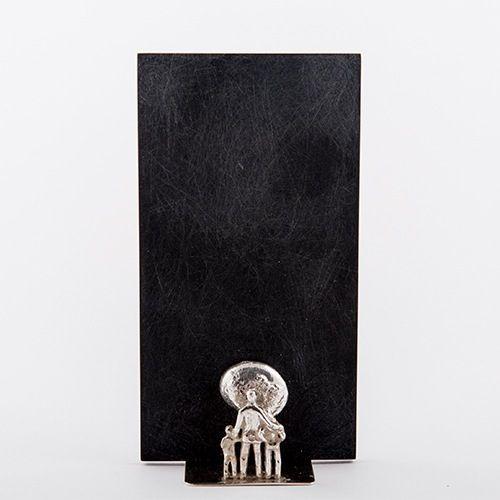 Anyaga:  Ezüst  Plexi  Művész: Kárpáti Róbert