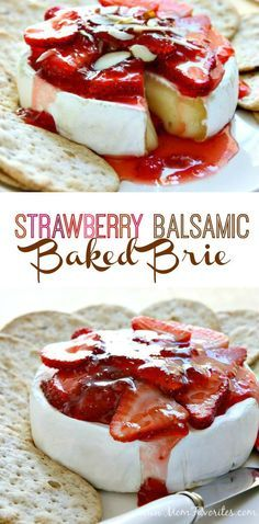 Strawberry Baked Brie Recipe.