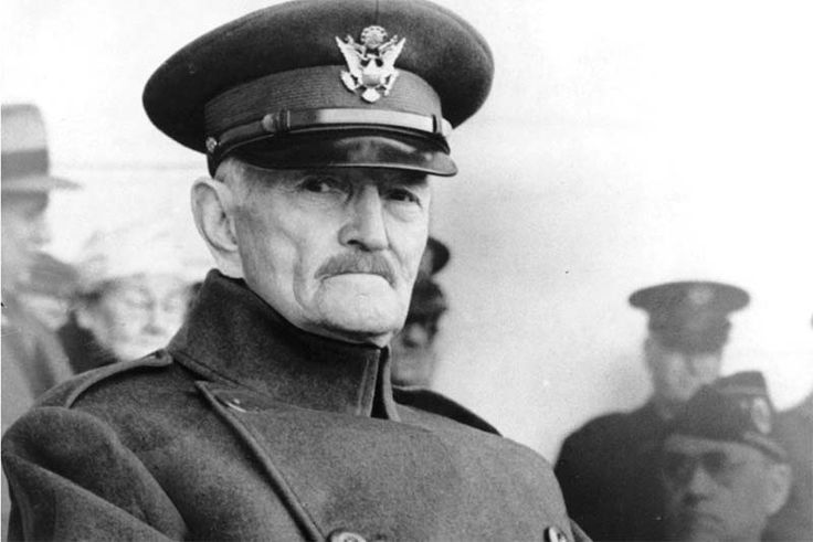 The United States greatest leaders, including Patton, Truman, and MacArthur, spent the formative years of their military careers under the command of Gener