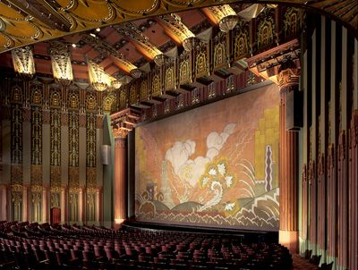 The Wilterm Theatre Interior Theatre Pinterest Theater Angeles And The O 39 Jays