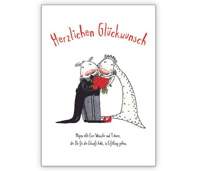 Herzlichen Glückwunsch zur Hochzeit - http://www.1agrusskarten.de/shop/herzlichen-gluckwunsch-zur-hochzeit/