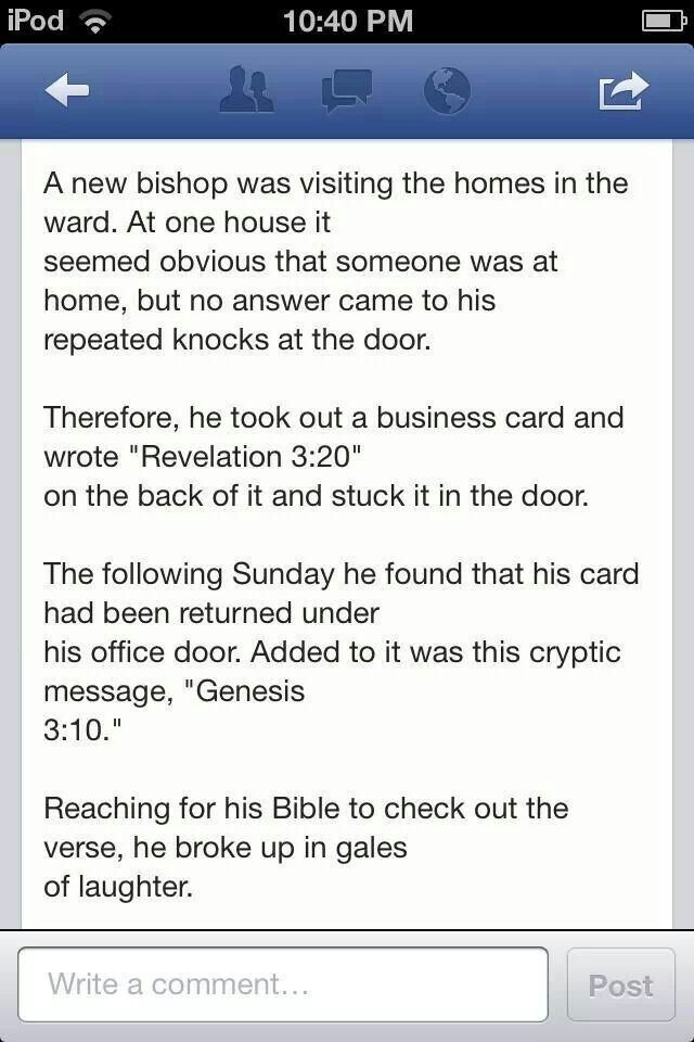 """Revelation 3:20 Behold, I stand at the door and knock. If anyone hears my voice and opens the door, I will come in to him and eat with him, and he with me. 