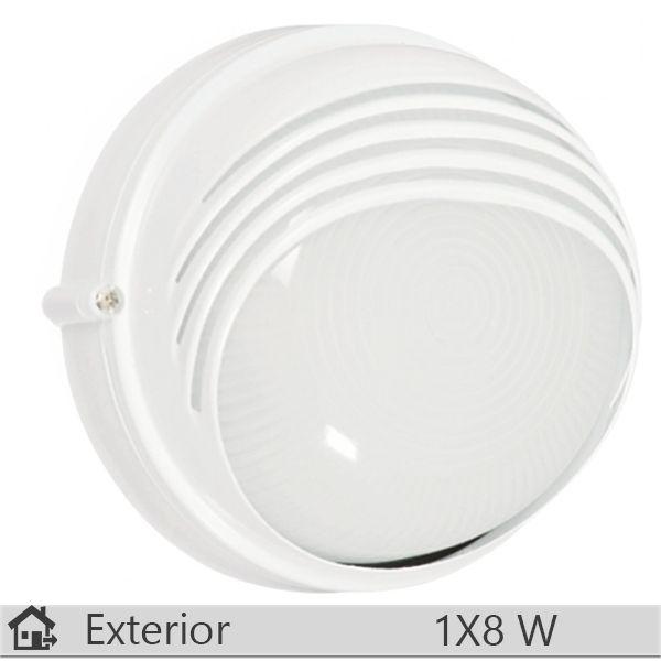 Aplica iluminat decorativ exterior Klausen, gama Parma, model Alb http://www.etbm.ro/