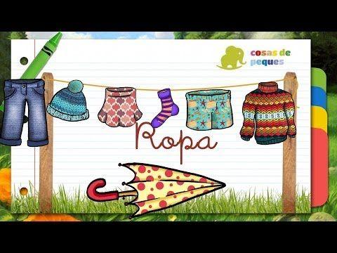 En este vídeo podremos aprender las prendas de ropa de forma divertida y educativa.