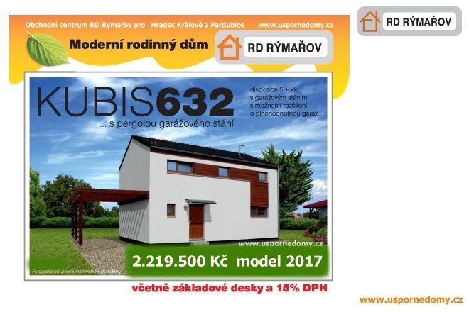 Energeticky úsporný dům, Kubis, základová deska, komín,www.uspornedomy.cz, pergola, v ceně,