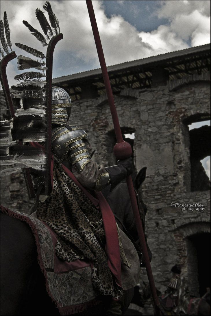 a winged Hussar (like in that song)