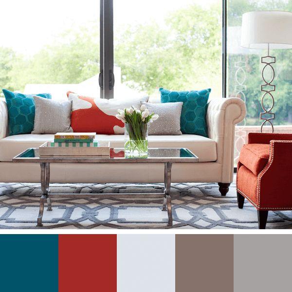 Ideias De CORES PARA SALA: Como Escolher Cores Para Sala De Estar, Salas De  · Living Room Color ... Part 88